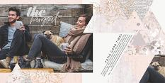 Blush Collection friends layout by Brandy Murry