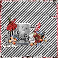 Aria 13 months old by geekgirl designs