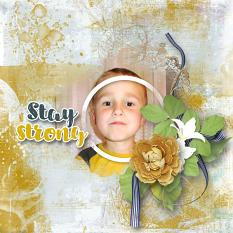 layout using Happy Easter Embellishment : Pack 1 by florju designs