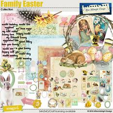 Family Easter Collection by Aftermidnight Design