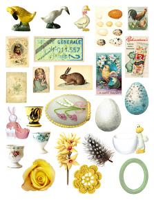 Family Easter Collection Sheet 1 by Aftermidnight Design