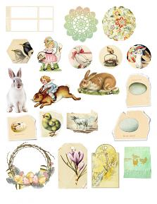 Family Easter Collection Sheet 2 by Aftermidnight Design