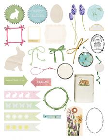 Family Easter Collection Sheet 3 by Aftermidnight Design