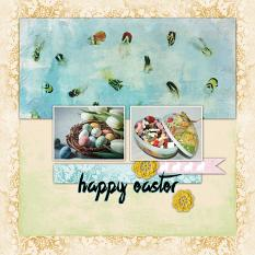 Layout by Marie Orsini using Family Easter Collection and Family Easter WordArt by Aftermidnight Design
