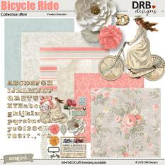 Bicycle Ride Collection Mini by DRB Designs | ScrapGirls.com