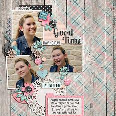 layout by Shauna using Easter Eggstravaganza by Dagi's Temp-tations