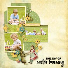 layout by Geraldine using Easter Eggstravaganza by Dagi's Temp-tations