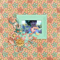 Layout by Bekah using Project Keepsake: April - Collection Biggie