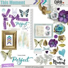 This Moment Embellishment by DRB Designs | ScrapGirls.com