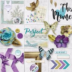 This Moment Embellishment Closeup