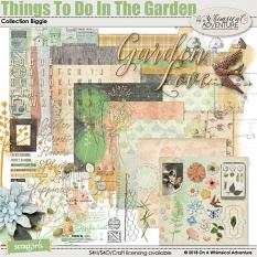 Things To Do In The Garden Collection Biggie by On A Whimsical Adventure