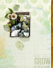 Digital layout using Things To Do In The Garden Value Pack by On A Whimsical Adventure