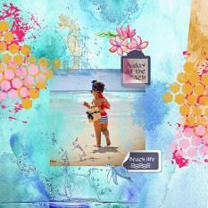 layout Beachlife by Marie Orsini using Islands in the syn by Aftermidnight design