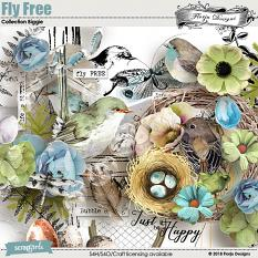 layout using Fly Free Collection Biggie by florju designs