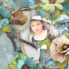 layout using Fly Free Embellishment Biggie by florju designs