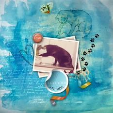Layout by Marie Orsini using Cattitude by Aftermidnight Design