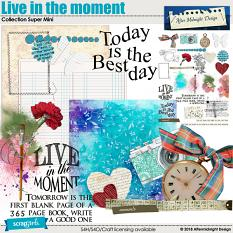 Live in the moment by Aftermidnight Design