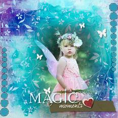 Layout by Marie Hoorne using Live in the moment by Aftermidnight Design