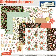 Christmas pleasures Collection by Aftermidnight Design