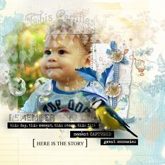 layout using Favorite Memories Word Art and Word Tag by florju designs