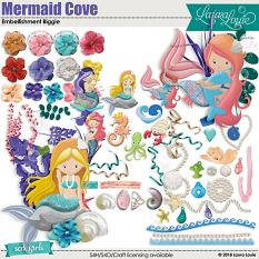 Mermaid Cove Embellishment Biggie