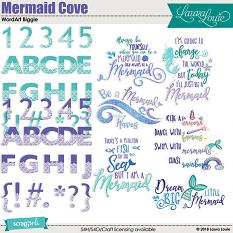 Mermaid Cove WordArt Biggie