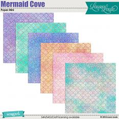 Mermaid Cove Paper Mini