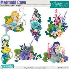 Mermaid Cove Embellishment Mini - Clusters