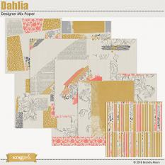 Dahlia Designer Mix Papers by Brandy Murry