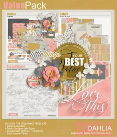 This kit is also included in the Value Pack: Dahlia