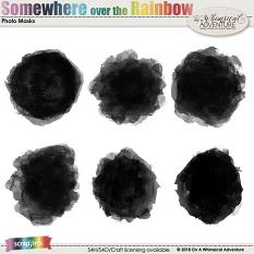 Somewhere Over The Rainbow Photo Masks by On A Whimsical Adventure
