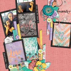 Layout by Joanna using Project Keepsake: May - Collection Biggie
