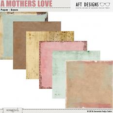 A Mothers Love Base - Papers by AFT Designs - Amanda Frajo-Tobin @ScrapGirls.com | #digital #printable #mothersday