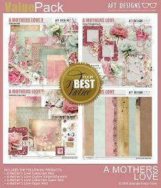 Value Pack: A Mother's Love by AFT Designs - Amanda Fraijo-Tobin @ScrapGirls.com