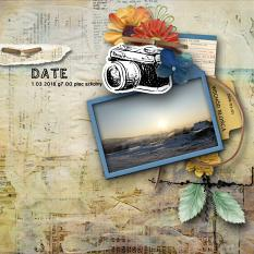 layout using  Carnet De Voyage Word art and Word tag by florju designs