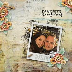 layout using  Carnet De Voyage Word art and Word tag by florju design
