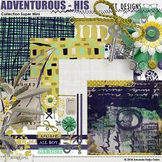 Adventurous - His Collection Super Mini by AFT Designs - Amanda Fraijo-Tobin @ScrapGirls.com
