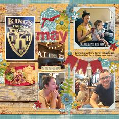 layout by Andrea using Hello 2018: May by Dagi's Temp-tations