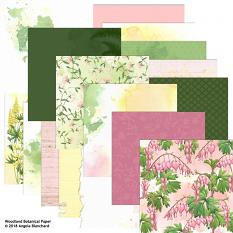 Woodland Botanical Collection Biggie Papers