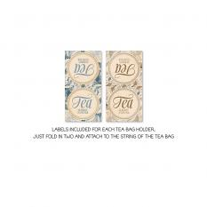 Tea Bag Envelopes Vol1 by On A Whimsical Adventure
