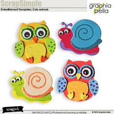 Cute animals by Graphia Bella