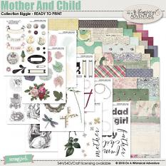 Mother And Child Printable Collection by On A Whimsical Adventure
