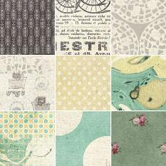 Mother And Child Patterned and Artsy Papers by On A Whimsical Adventure