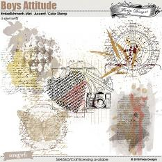 Value Pack: Boys Attitude by florju designs