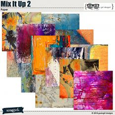 Mix It Up 2 Papers by geekgirl designs