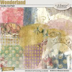 Wonderland Transfers And Paint by On A Whimsical Adventure