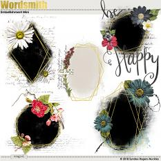 Wordsmith Embellishment Mini