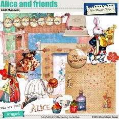 Alice and Friends Collection Mini by Aftermidnight Design