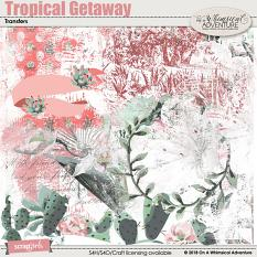 Tropical Getaway Transfers by On A Whimsical Adventure
