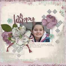 Digital Scrapbooking layout idea by AFT Designs - Amanda Fraijo-Tobin using Blended Edges Paper Templates 1 - www.aftdesigns.net